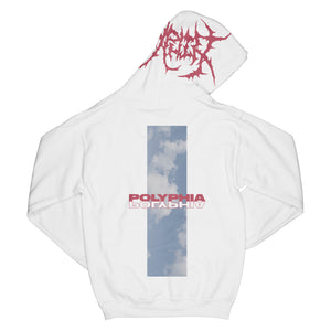 Mother Of Lies White Pullover Hoodie