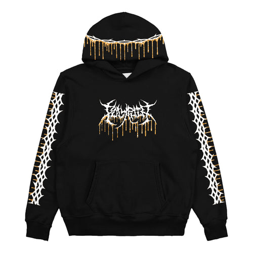 Drip Black Custom Pullover Sweatshirt