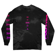 Load image into Gallery viewer, Stigmata Custom Dye Black Long Sleeve