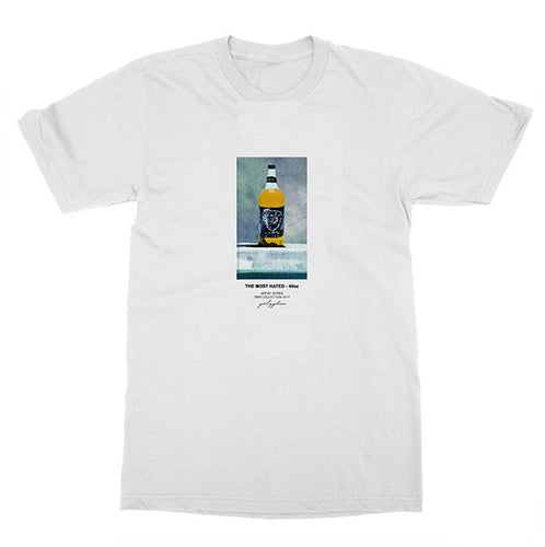 40 Oz White T-Shirt