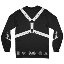 Load image into Gallery viewer, Straps Black Long Sleeve Shirt