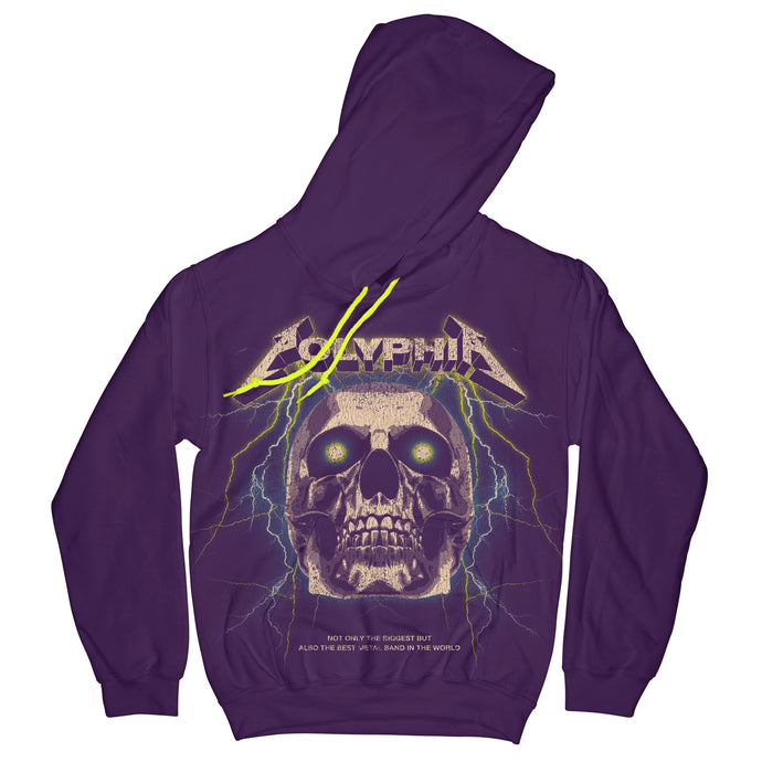 Lightning Purple Pullover Sweatshirt