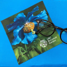 Load image into Gallery viewer, UBC Botanical Garden Glasses microfiber cleaning cloth