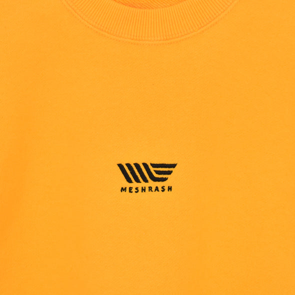 Small Logo Sweat - Yellow Gold