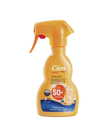 Children's sun protection spray