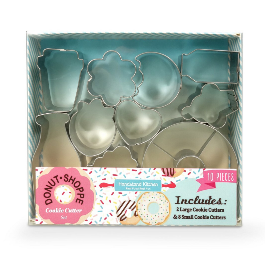 Ten Piece Donut Shaped Cookie Cutter Set