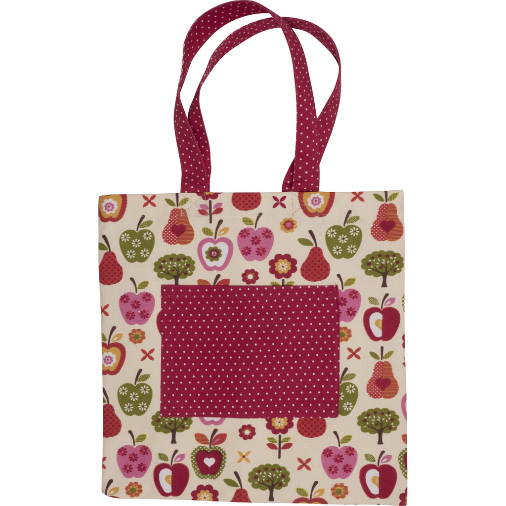 Apple Print Farmers Market Kids Tote Bag