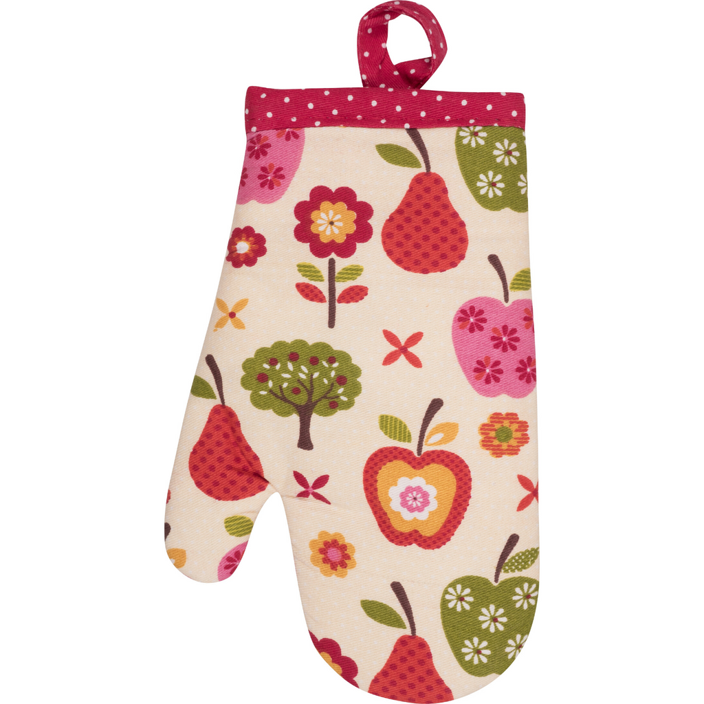 Apple Print Child Size Cooking Oven Mitt