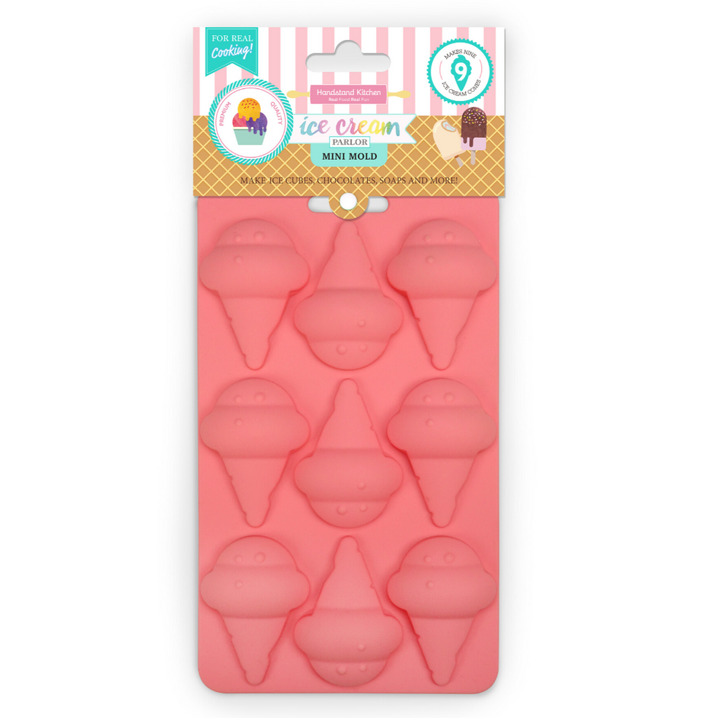 Ice Cream Cone Shaped SIlicone Baking Cupcake Mold