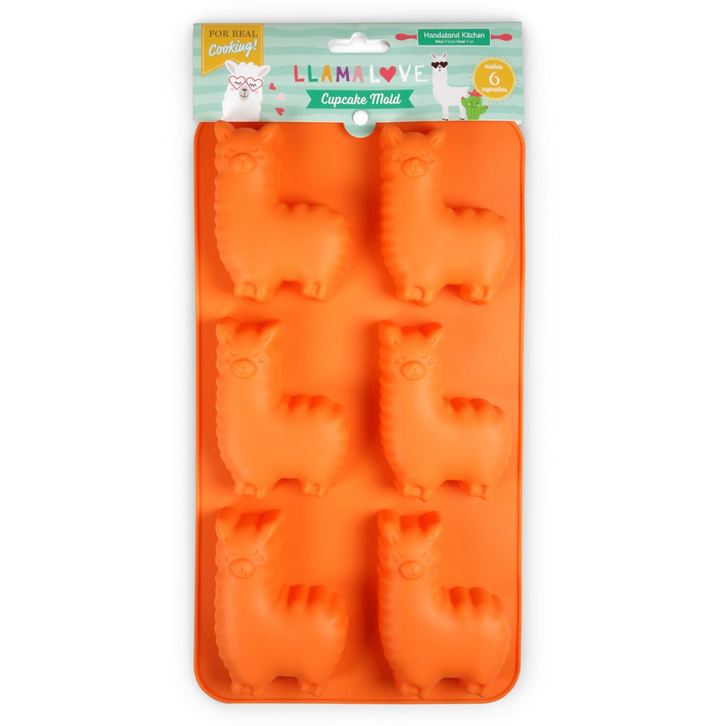 Llama Love Llama Shaped Cupcake Silicone Baking Mold