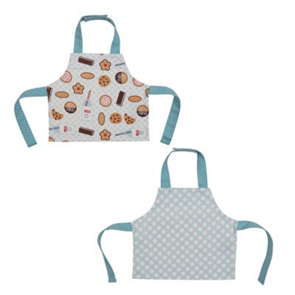 Milk and Cookie Print 2 Pack Bib Set