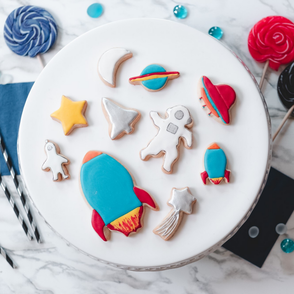 Out of this World Space Themed 10 Piece Cookie Cutters