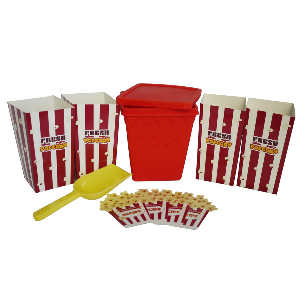 Kids Silicone Popcorn Making Kit Microwave