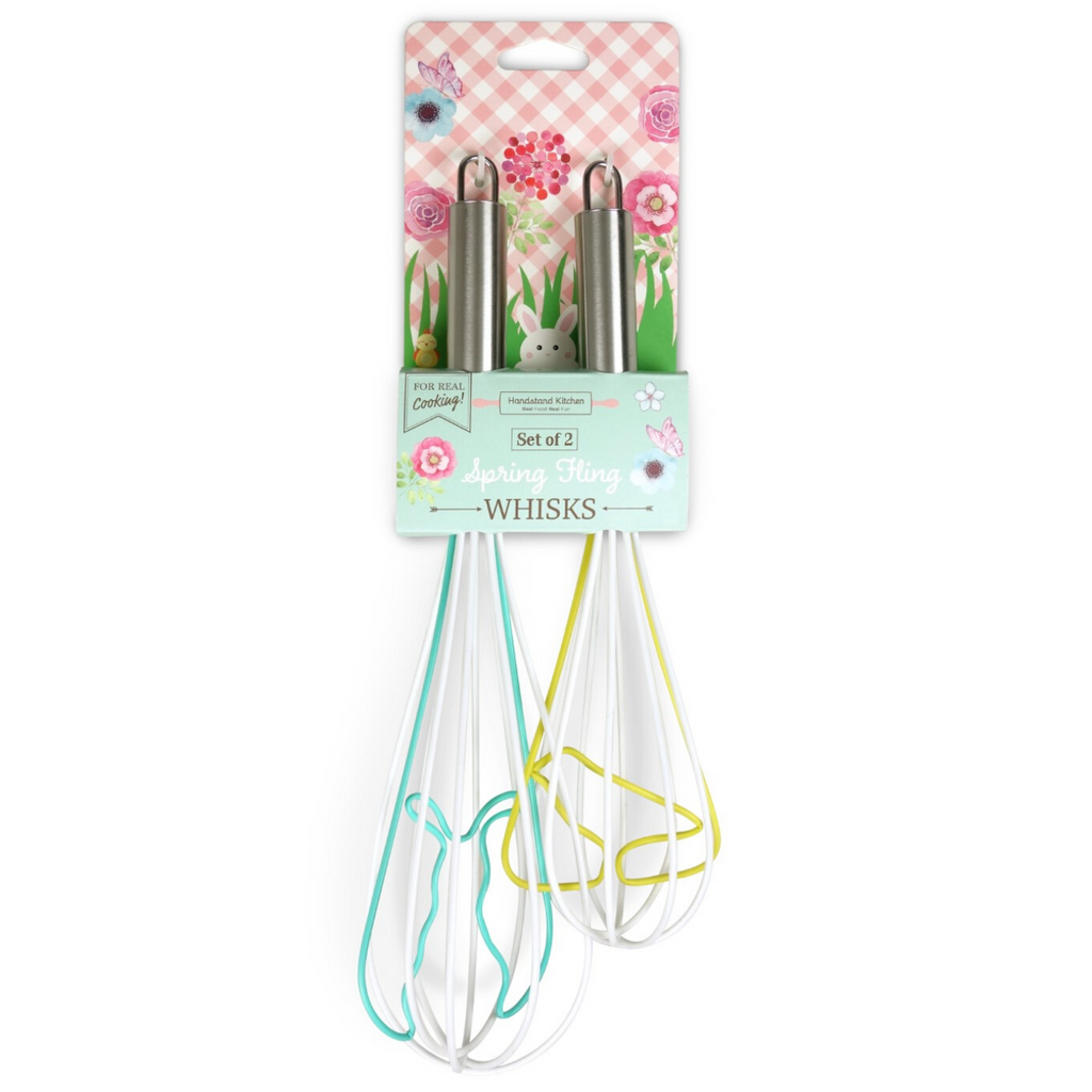 Spring Fling Easter Themed 2 Pack Whisk Set