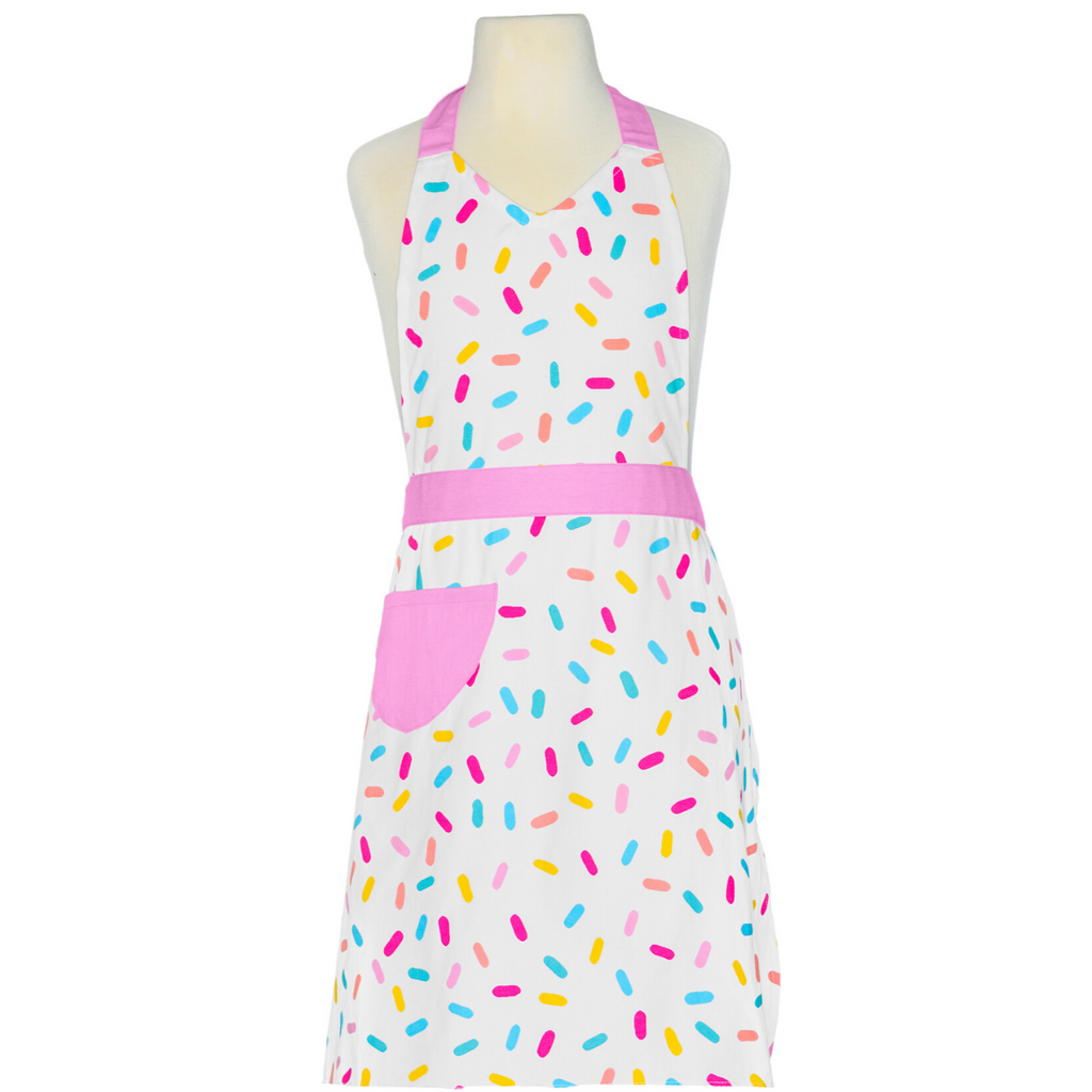 Sprinkle Printed Adult Cooking Apron