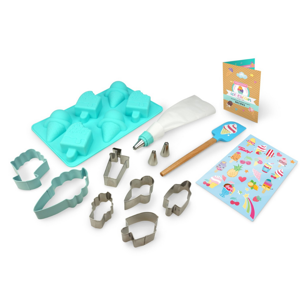 Ice Cream Themed SIlicone Baking Mold Ultimate Baking Set