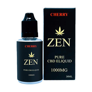 Cherry E-liquid 1000mg CBD