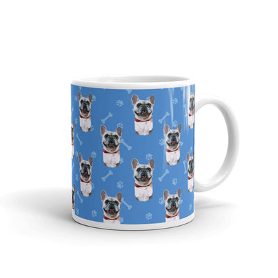 Dog Paws And Bones Mug