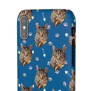 Custom Cat Paws and Fish Bones Phone Case