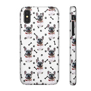 Custom Dog Paws and Bones Phone Case
