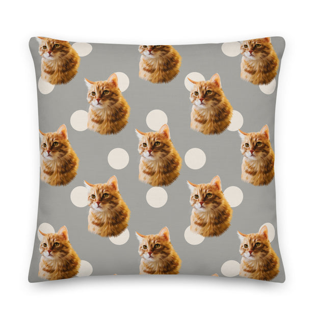 Custom Spotted Pillow