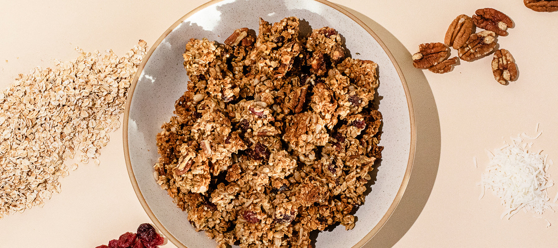 image of homemade granola.