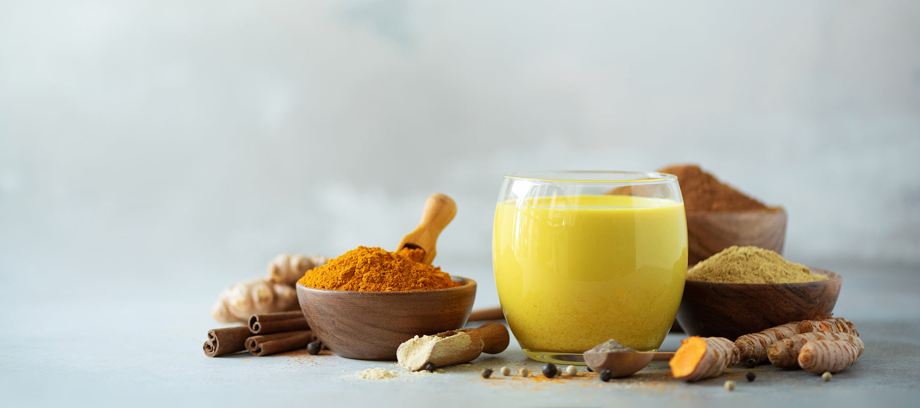 Image of a turmeric latte