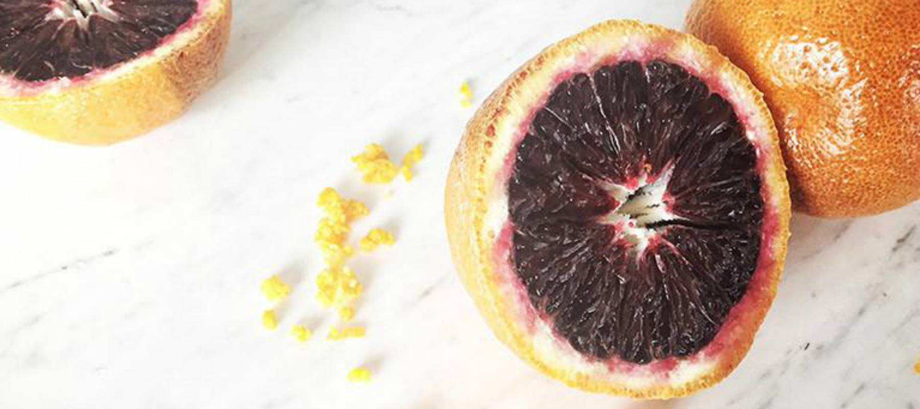 Refresh & Detox: Blood Orange Vegan Colada