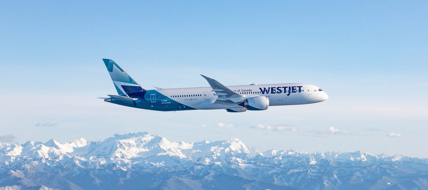 Flying With WestJet - Rocky Mountain Soap Company