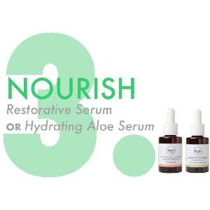 3. nourish with serum