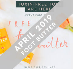 April Toxin-Free Foot Butter