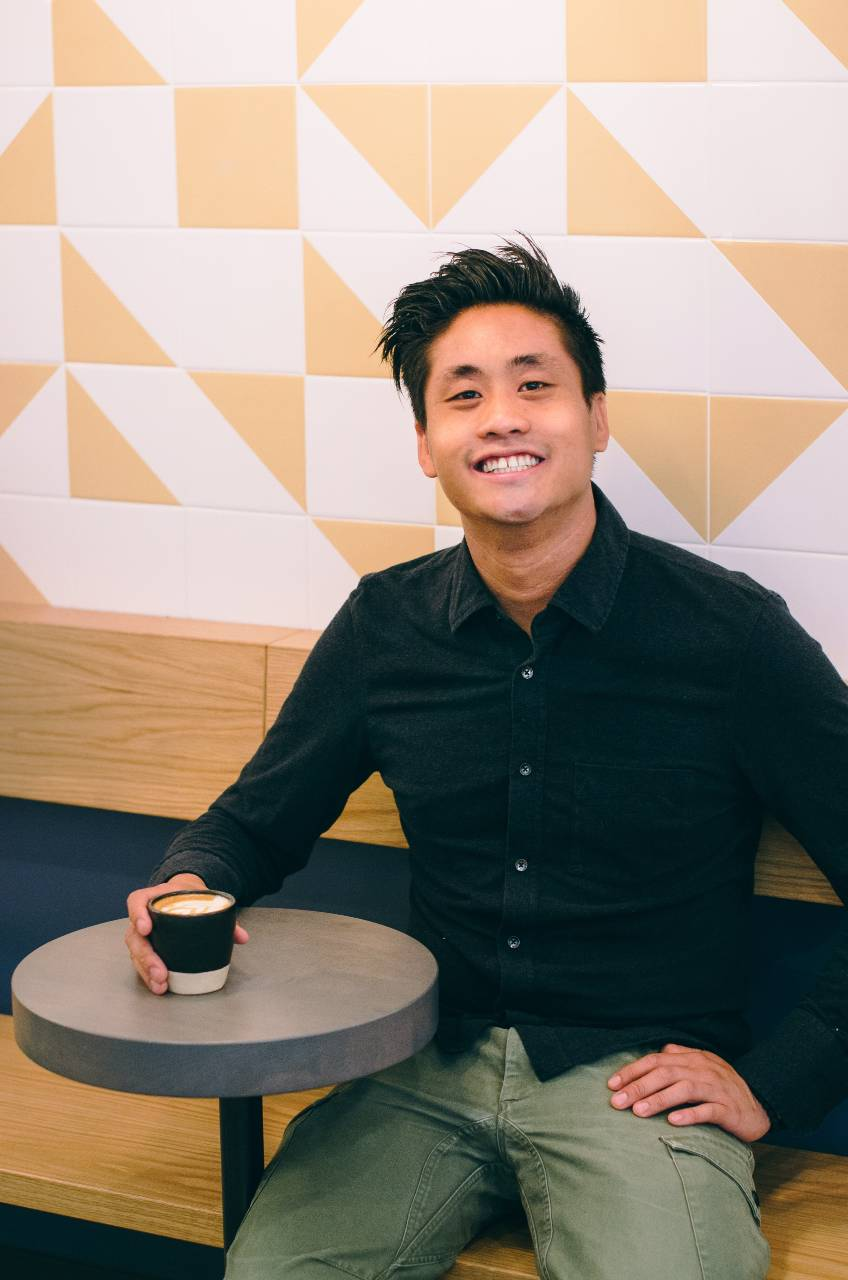 Image of Jeremy Ho, co-owner of Monogram Coffee Calgary.