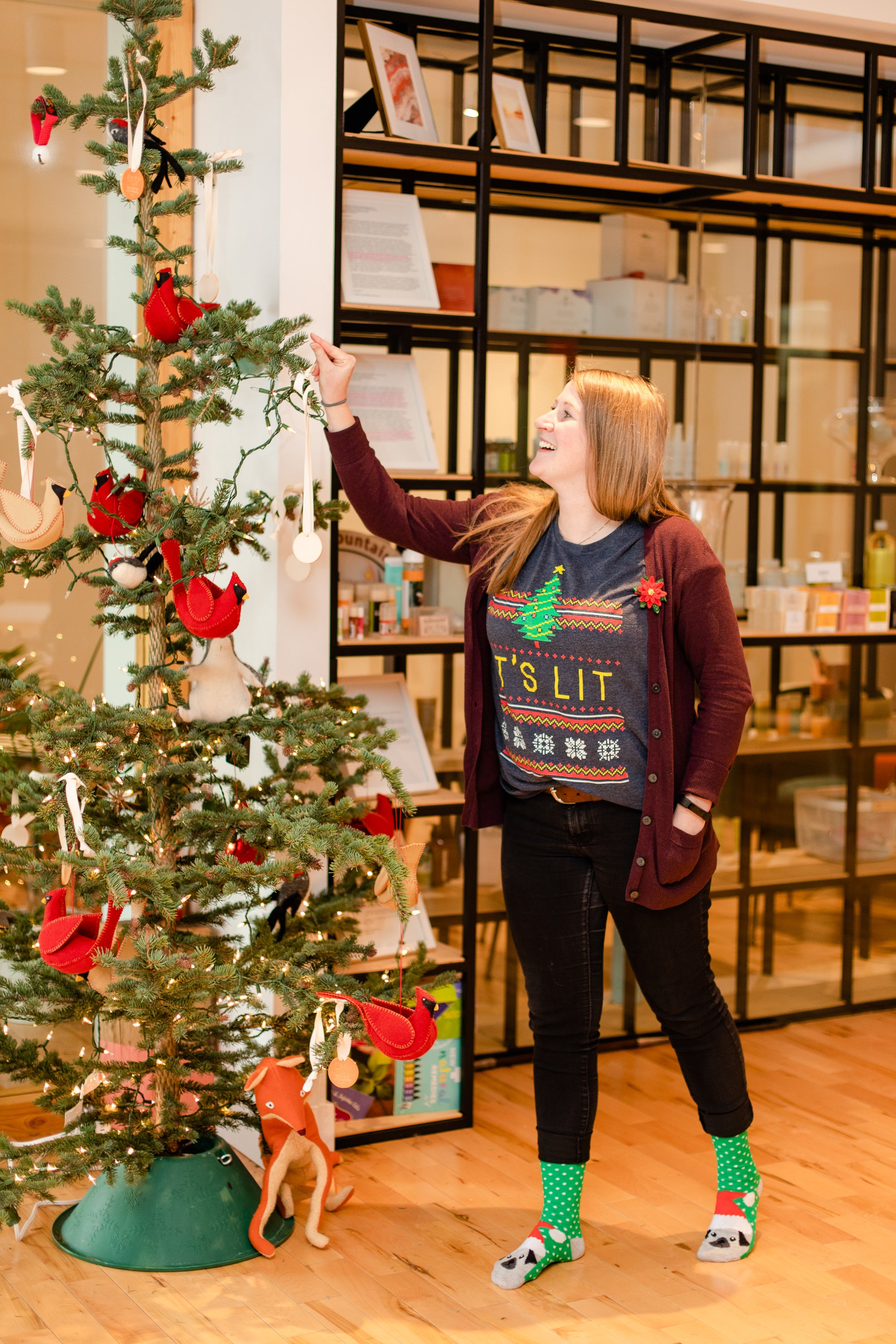 Erin at Rocky Mountain Soap Company shares what brings her holiday joy.