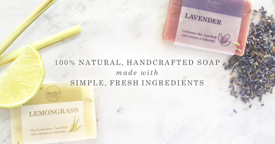 natura and hand made soap