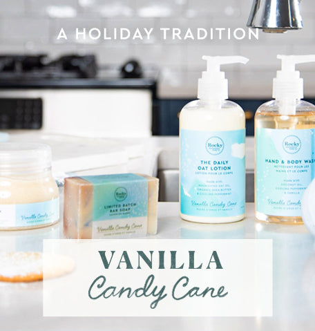 vanilla candy cane scent collection