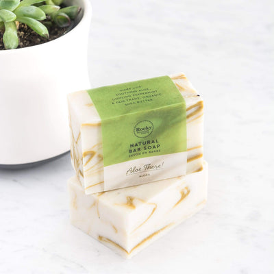 Aloe There Natrural Soap Bars
