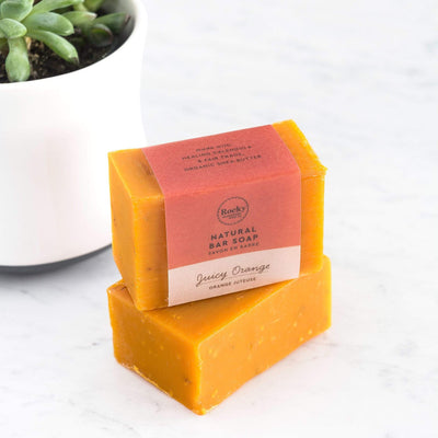 Juicy Orange Natural Bar Soap