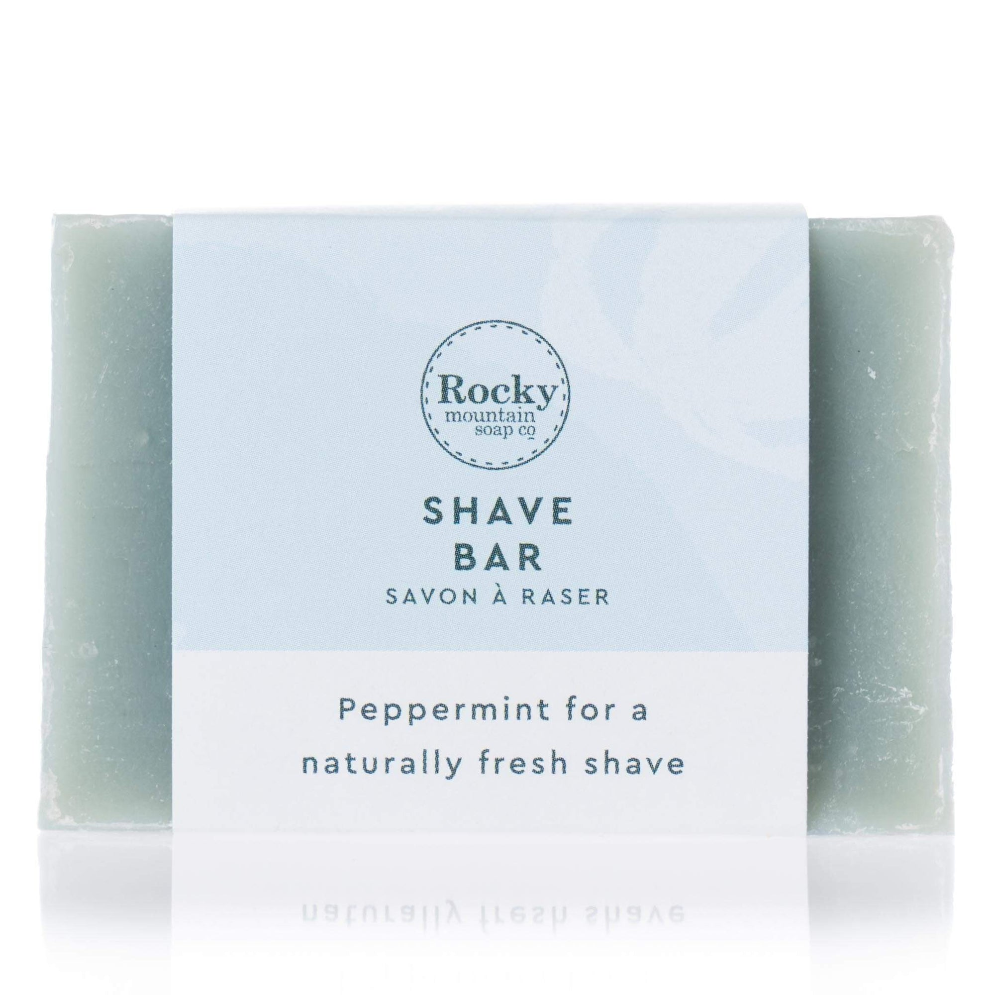 Peppermint Shave Bar Soap
