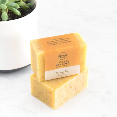 Natural Pumpkin Bar Soap