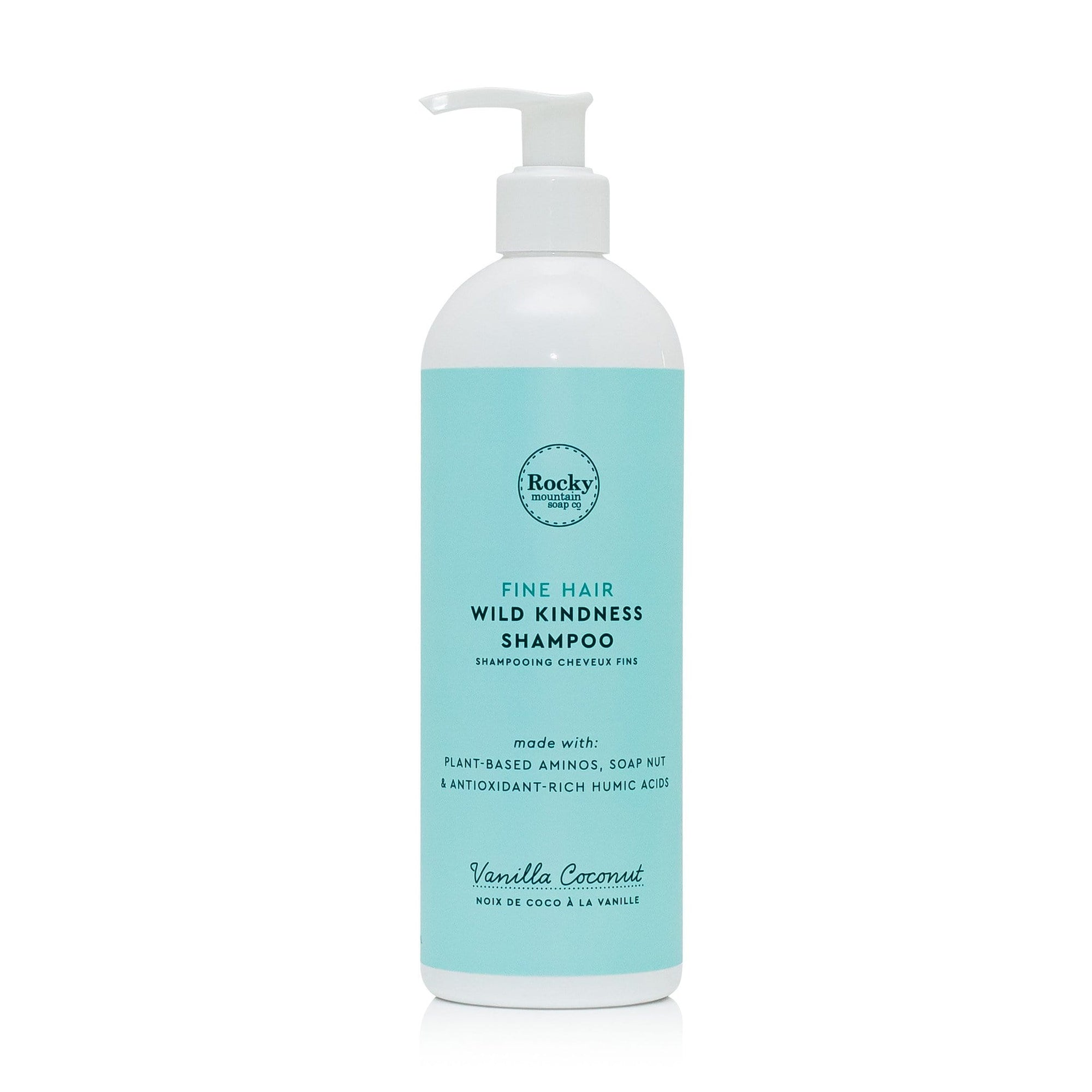 Vanilla Coconut Fine Hair Natural Shampoo