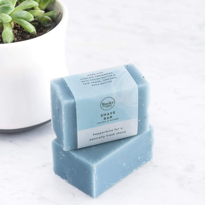 Peppermint Natural Shave Bar