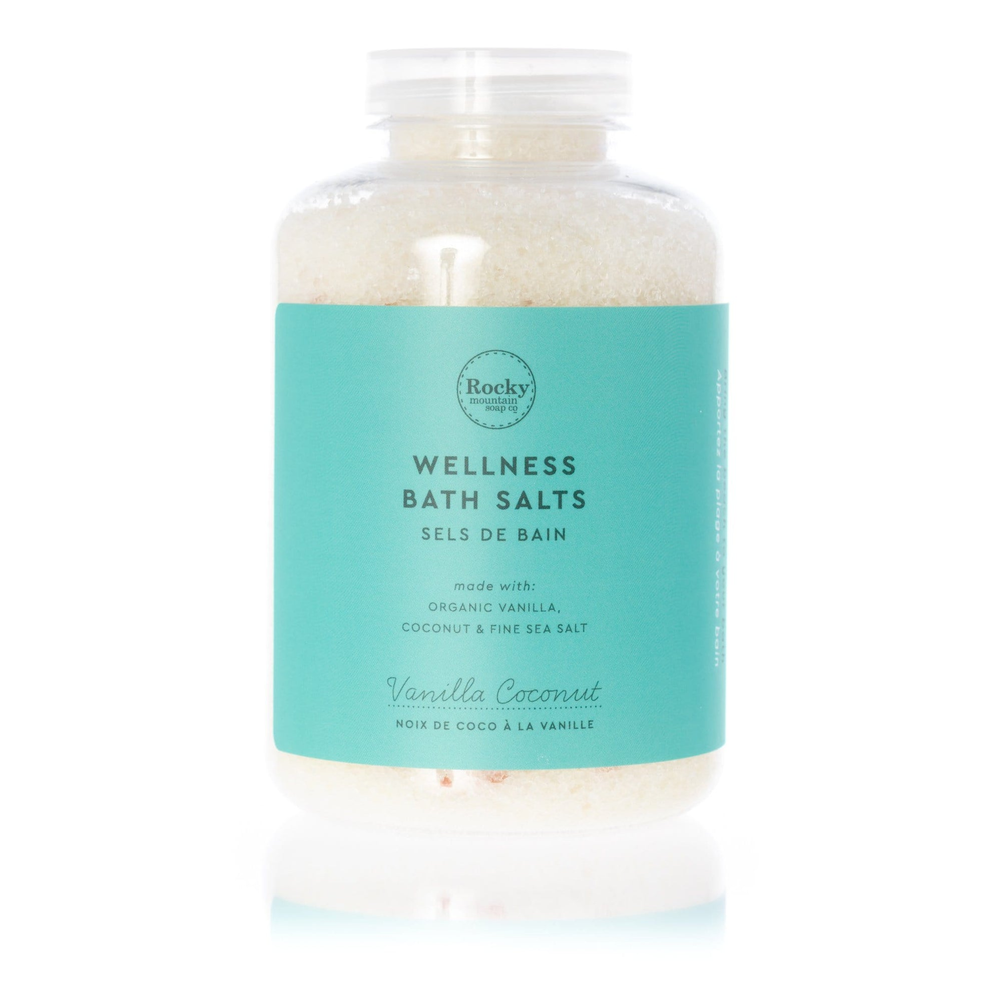 Vanilla Coconut Wellness Bath Salts