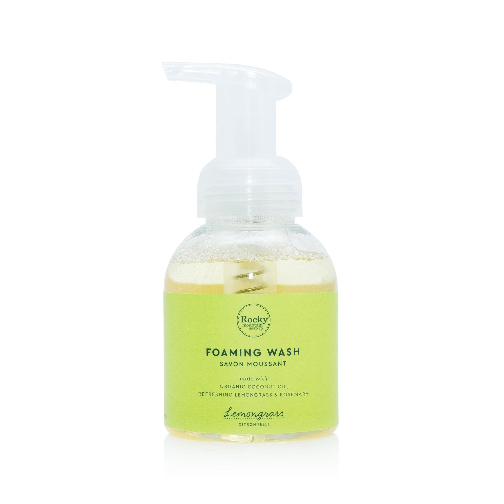 lemongrass foaming wash