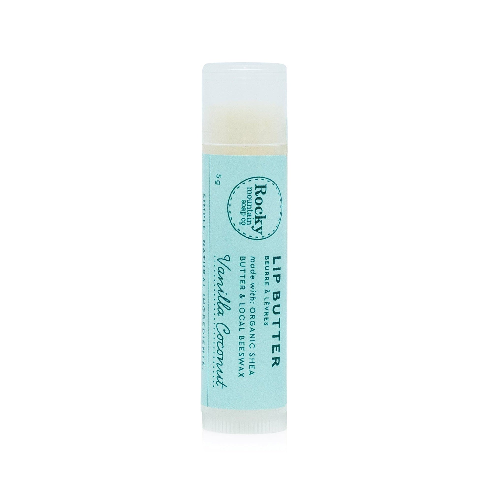 vanilla coconut lip butter