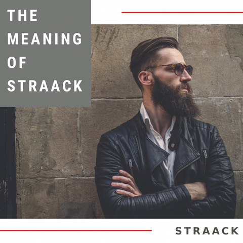 StraacK explained, gentleman standing at the ready