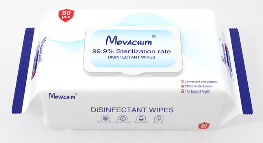 Disinfectant Wipes(80 Pack)