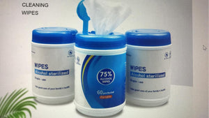 Mini Canister Alcohol Wipes( 50 Wipes)