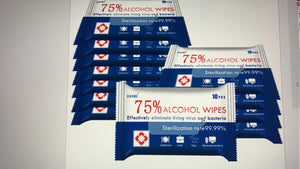 Alcohol Wipes Pack( 10/40 Pack)