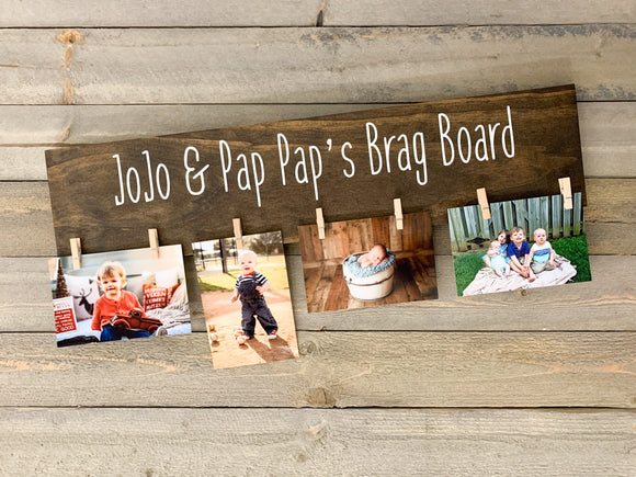 Grandparent Brag Board