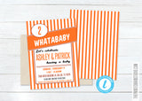 Whataburger Baby Shower Thank You